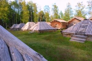 I Arvidsjaur, en av 16 bevarade kyrkstäder i landet, det har funnits runt 70