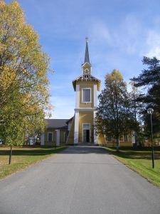 Kyrkan i Pajala, foto Jenny Dahlén Vestlund © Norrbottens museum