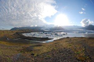 Ytterligare en bild på Vattnajökull, Island. Foto: Frida Palmbo, © Frida Palmbo