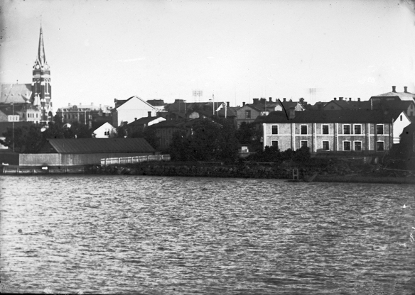 Röcknerska gården i Norra hamnen , Luleå. Fotograf: Henny Tegström © Norrbottens museum