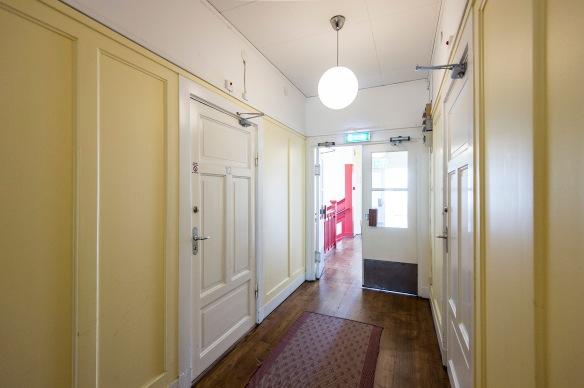 Hotellkorridoren på våning 1 i Järnvägshotellet. Foto: Daryoush Tahmasebi © Norrbottens museum