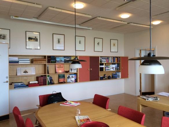 Ett av de stora kontoren där också delar av originalmöbleringen finns kvar. Foto: Jennie Björklund © Norrbottens museum