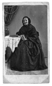 2002. 3 Magdalena Wennman f 1786 d 1866, gift med köpmannen och gårdsägaren Christoffer Bergström. Mor till köpmannen Nils Erik Bergström