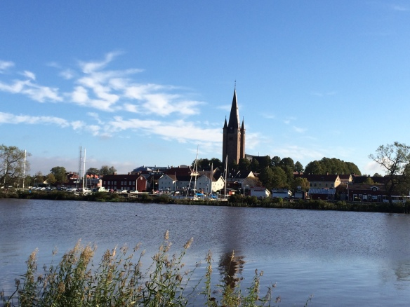 Mariestads stadssiluett Foto: Jennie Björklund © Norrbottens museum.