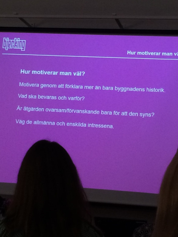 Från Maria Ros föredrag. Foto: Jennie Björklund © Norrbottens museum.