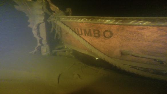 2. Den lilla lotsbåten Jumbo hittade vi när vi gjorde utredningen för Luleå farled. Inte så gammal..