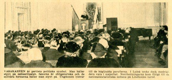 Nationalsocialistisk samling kring Lindholm