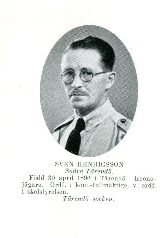 Sven Henricsson, Tärendö