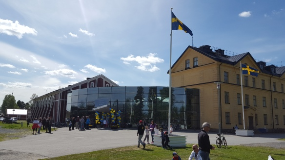 Försvarsmuseum Boden. Museibyggnad. Foto: Ulf Renlund