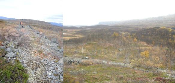 Materialväg vid Vassijaure. Foto: Tone Hällsten, (CCBY)