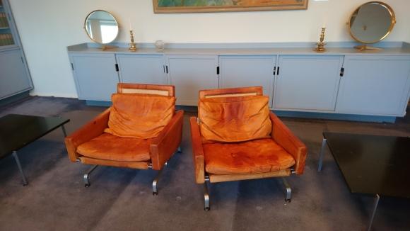 Unika stolar i stadshusets bibliotek. Foto: Sophie Nyblom ©Norrbottens museum
