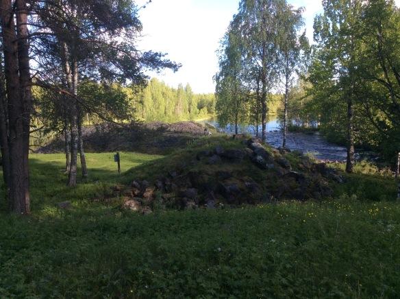 Masugn och slagghög vid Vitån, Avafors