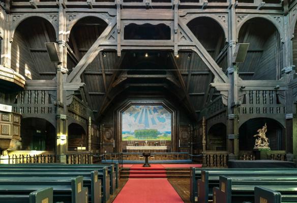 print kiruna kyrka