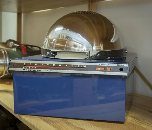 Mikrovågsugn cupol