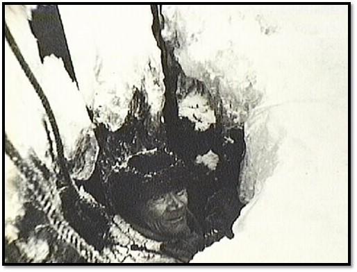 Dammvakt genom isen