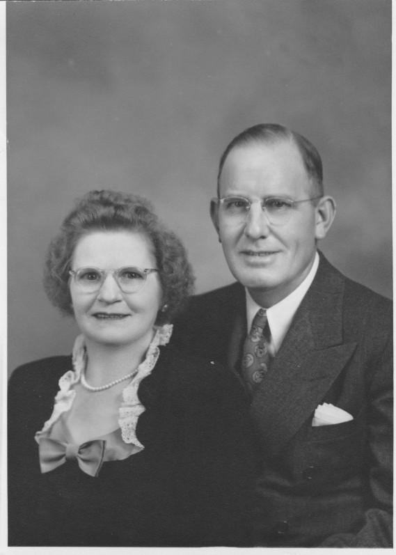 Augusta Emma Lifbom med make Ray Briggs